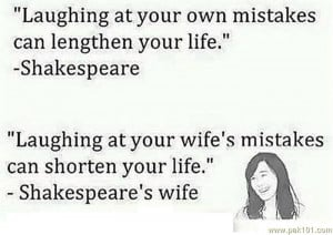 Funny Quotes On Wife