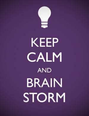 How to Brainstorm while Blogging