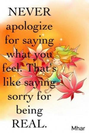 always be honest