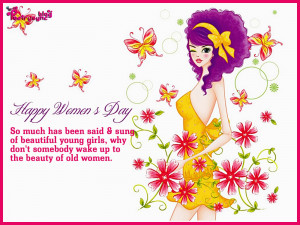 Happy Women's Day Wishes Quote Picture 8 March Image