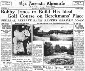 Bobby Jones Envisions Augusta National Golf Club - Preview Image
