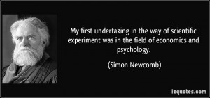 My first undertaking in the way of scientific experiment was in the ...