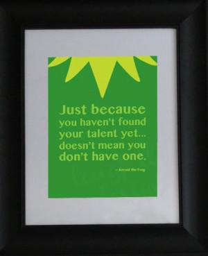 Solo porque no has encontrado tu talento aun... no significa que no lo ...