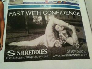 Funny Underwear ad