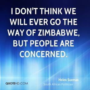 Zimbabwe Quotes