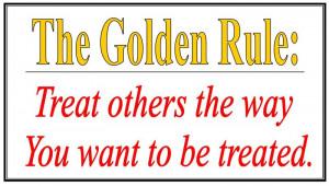 The Golden Rule Not Shower