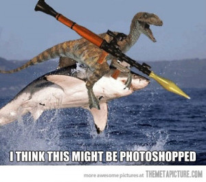 Funny photos funny this looks photoshoped dinosaur
