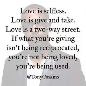 Tony Gaskins quote