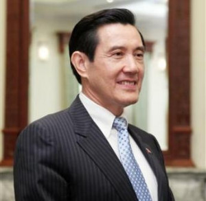 Ma Ying-jeou, current President of Taiwan
