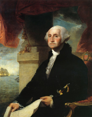 George Washington – the first 'real' President of the United States ...
