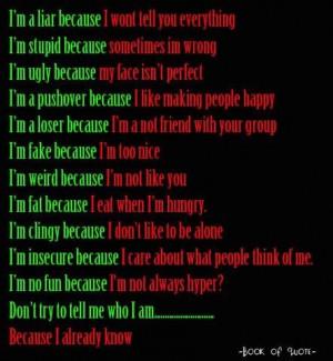 Im A Liar Because