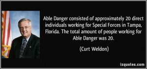 Able Danger consisted of approximately 20 direct individuals working ...