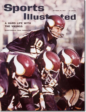 Fran Tarkenton and the Vikings 1962