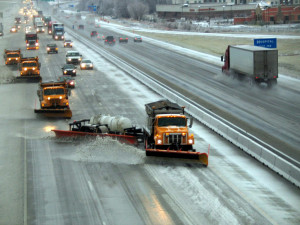 Budgets are heavily taxed by snow removal