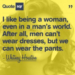 Whitney Houston #women quotes #Power Quotes #inspiration #girl power ...