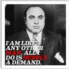 al capone quote $ 36 99 # mafia # icon more mafia quotes canvas ...