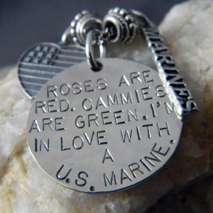 Cute Marine Girlfriend Quotes I'm in love with a us marine