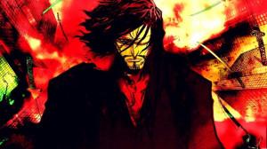 Bleach Zangetsu, Zangetsu is on fire, who the dare to oppose him? :D