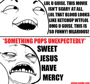 funny, hilarious, movie, scary, stupid, terror, text, true, typography ...