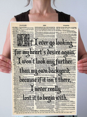 ... www.etsy.com/listing/169613881/large-wizard-of-oz-dorothy-quote-olde