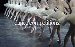 Dance competitions