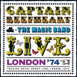 Captain Beefheart & Magic Band Live - London '74 UK CD ALBUM CDVR2238