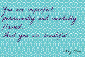 natural beauty quotes for the bathroom wall: you look great!