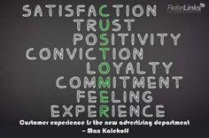 ... loyalty, #commitment, #feeling, #experience, #marketing, #