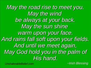 Inspirational-Quotes - Irish Blessing - St Patricks