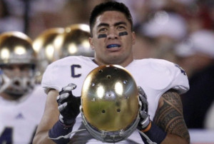 ... Manti Te'o had lost his grandmother and girlfriend within hours of