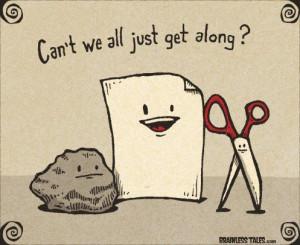 Conflict ResolutionRocks Paper Scissors, Laugh, Quotes, Funny Humor ...