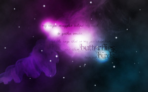 Galaxy Quotes Tumblr Wallpaper Galaxy quote wallpaper by