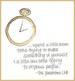 ... getting ready for breakfast and thought this quote was a good one. via