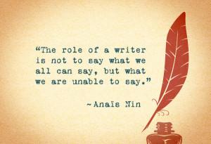 Anais Nin Writings