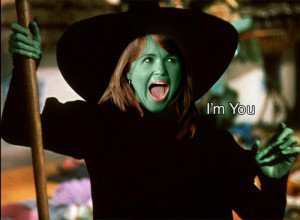 Self-proclaimed witch Christine O'Donnell: I'm You.