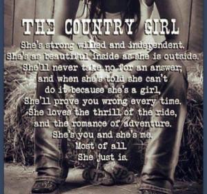 Country Girl #quote #country