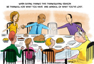 ... Topic: Quotes from famous people to enjoy during Thanksgiving dinner
