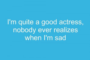 Winter Blues pictures and quotes | actress, blue, quotes, sad - image ...