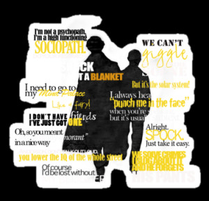rideqhs › Portfolio › Sherlock and John quotes (Yellow font)