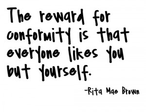 Conformity Quotes Credit conformity