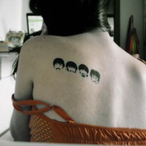errrr uh... great beatles tattoo here :oP