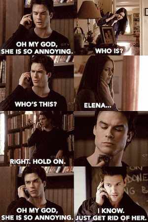 Vampire Diaries does Mean Girls