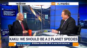 KAKU ON HAWKING: AN 'EARTH 2′ SOLUTION