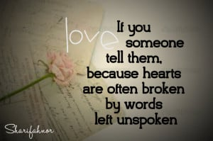 Words Left Unspoken