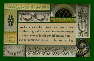 Barbara Deming (1917–1984) was an American activist, feminist and ...