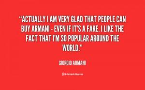Armani Quotes