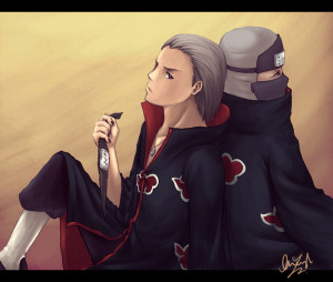 Hidan:You know what,Kakuzu?Eat a d[i]ck!