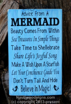 mermaid poems and quotes