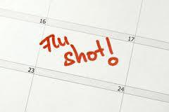 ... vaccine? If you said the 'flu', you win! Flu symptoms often