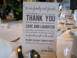 What To Write In A Thank You Card For Weddings and Bridal Party